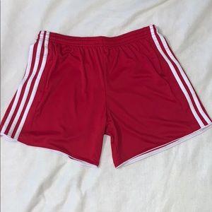 Adidas Red Shorts